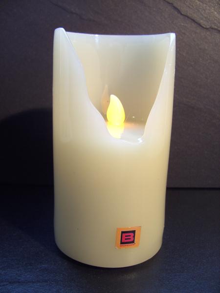 LED Grabkerze Grablicht weiß, H 14,5