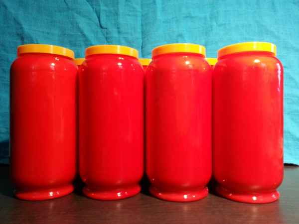 Monulux Öllicht 7 Tage / rot