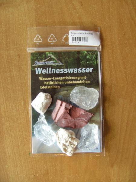 """Wassersteine """"Bewusstheit &Balance"""" Rohsteine"""