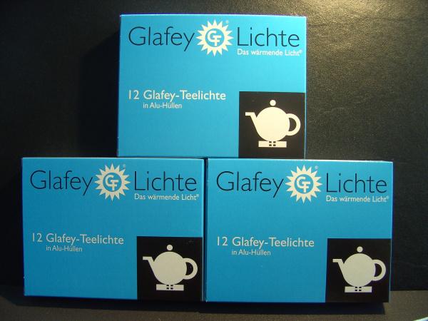 Glafey Teelichter im Alu-Napf, Nr.28