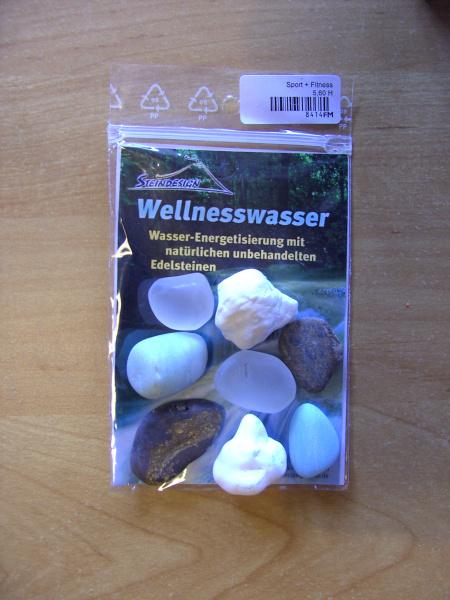 """Wassersteine """"Sport & Fitness"""""""