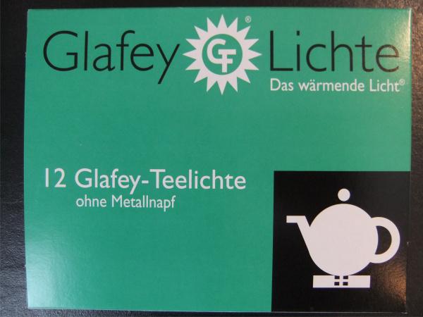 Glafey Teelichter Nachfüllpackung Nr.37