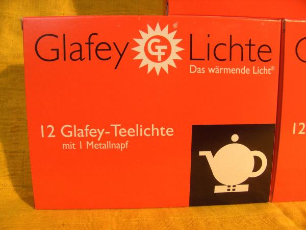 Glafey Teelichter Nr.38 + ein Odeon Napf