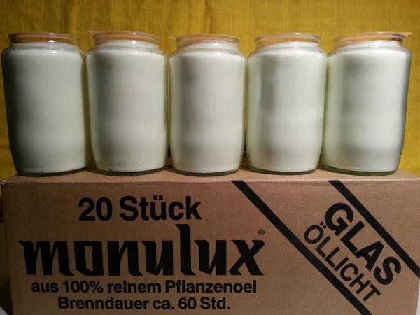 Monulux Glasöllicht 60 Stunden / weiß
