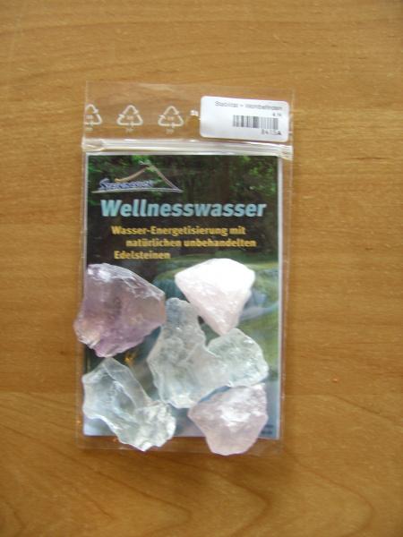 """Wassersteine """"Stabilität & Wohlbefinden"""" Rohsteine"""